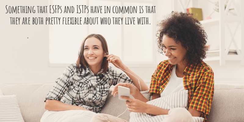 Can an ESFP and ISTP Live Together Peacefully? - Pixies Did It